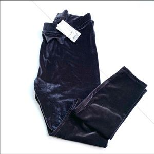HUF NWT velvet velour leggings large